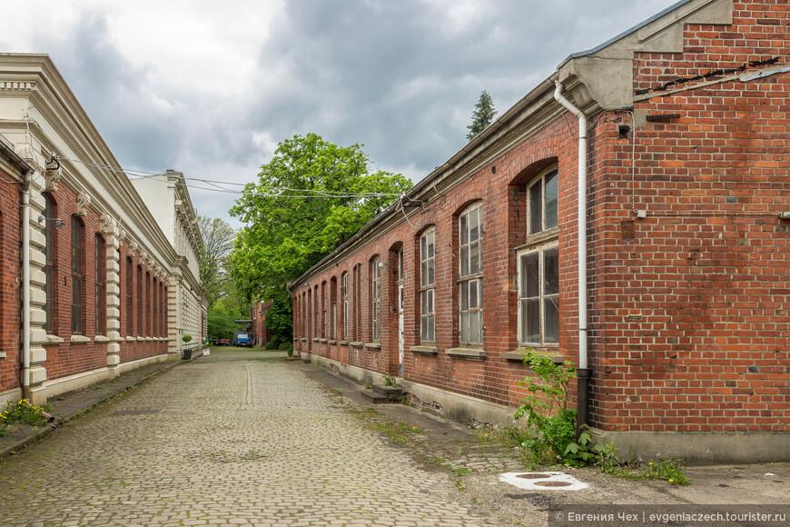 На территории старейшей в Бремене фабрики по производству столового серебра