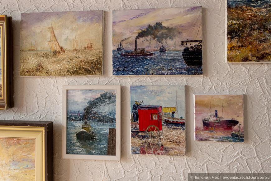 Новый город богат на многочисленные мастерские и ателье художников.