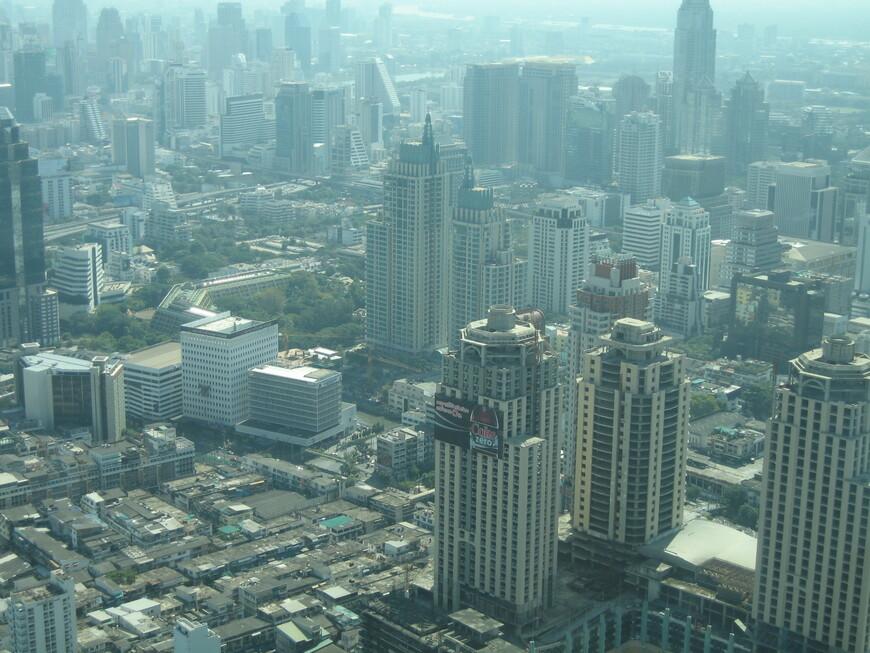 Бангкок с 79 этажа