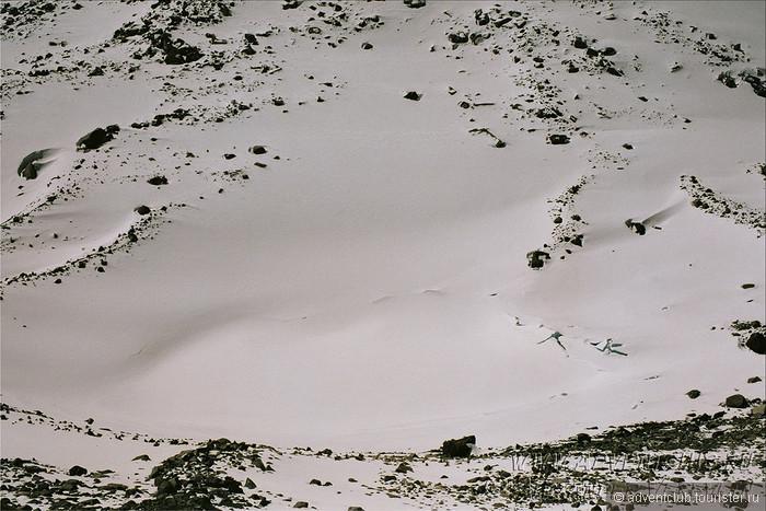 Скачать звук по снегу идут шаги