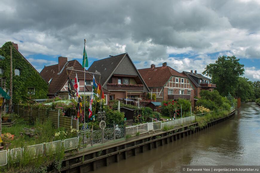 Район Альтес Ланд лежит между тремя живописными речками - Эльба, Швинге, Луэ.
