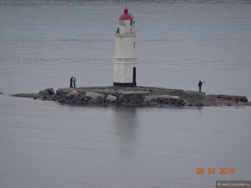 Токаревский маяк. Владивосток.