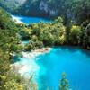 плитвицкие озера- вид с верха каньона