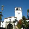 Староиспанское здание Суда города Санта-Барбара