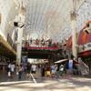 Самый большой в мире экран Fremont Experience в Даунтауне Лас-Вегаса