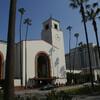 Железнодорожный вокзал в Даунтауне Лос-Анджелеса