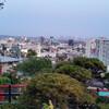 Панорама Лос-Анджелеса со смотровой площадки Ямаширо