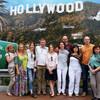 Группа туристов на туре Лос-Анджелес и Юнивёрсал Студия в один день