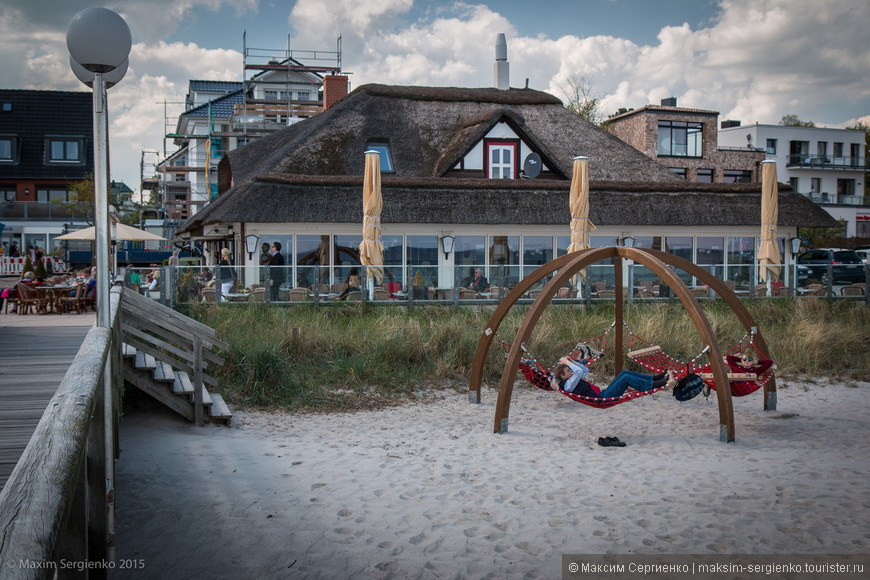 Соломенные крышы - отличительная деталь этого региона Германии