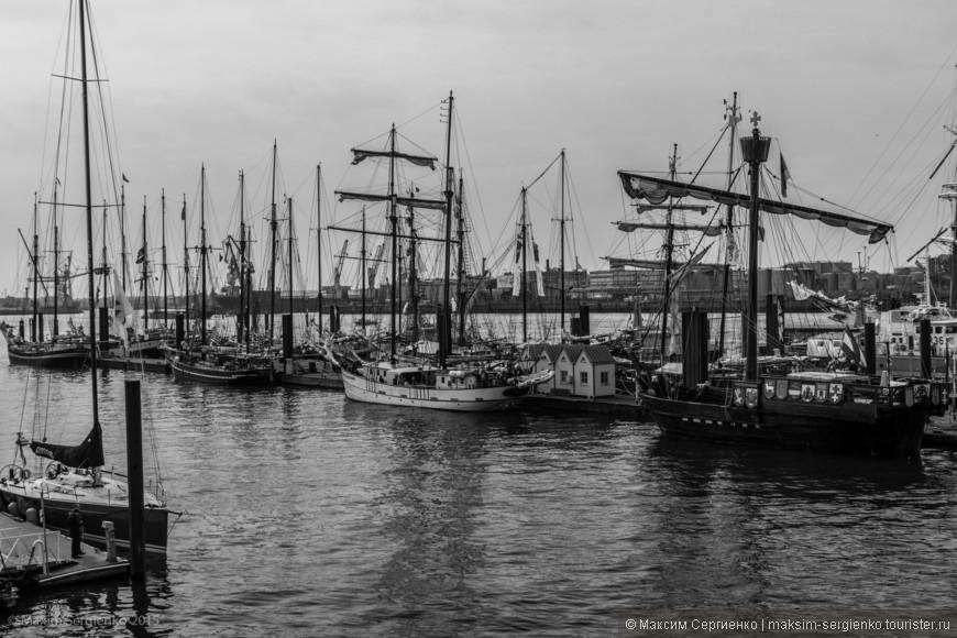 8-10 мая Гамбургский порт отмечает свой день рождения.