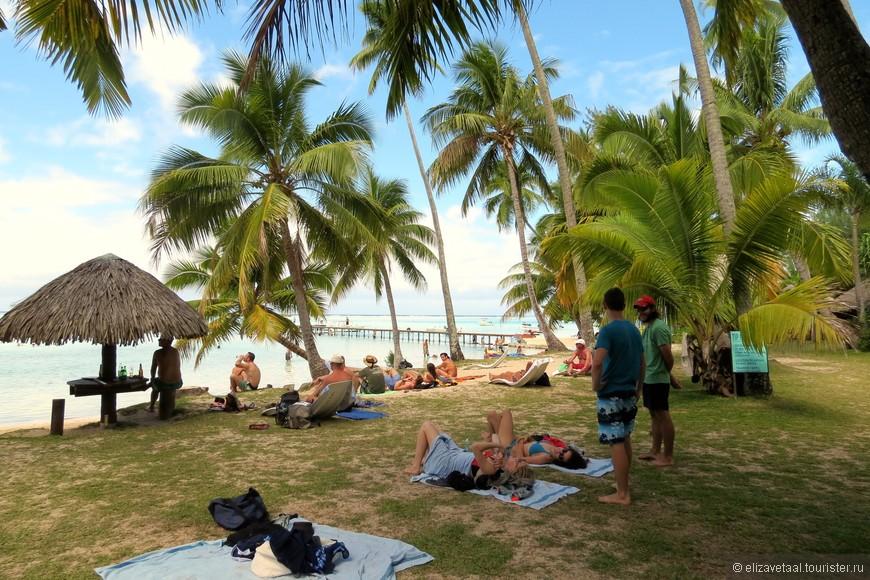 Очень понравилась атмосфера на пляже.