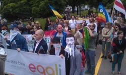 Гей-парад в Кишиневе прошел под контролем  главы МВД Молдавии