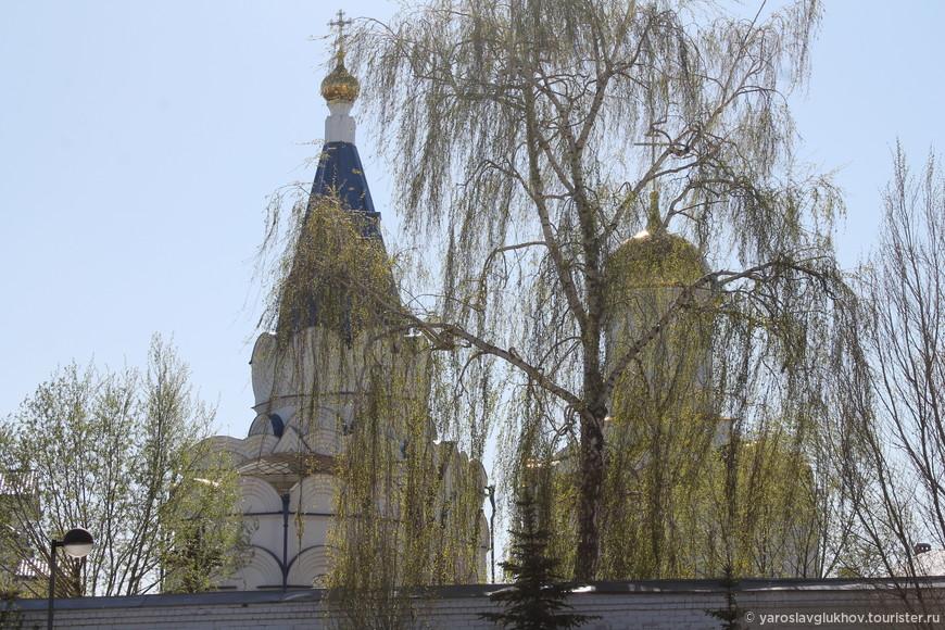Храмы и деревья — Зилантова гора.