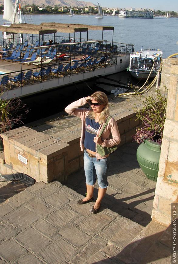 Прогулки по набережной Нила в Луксоре...
