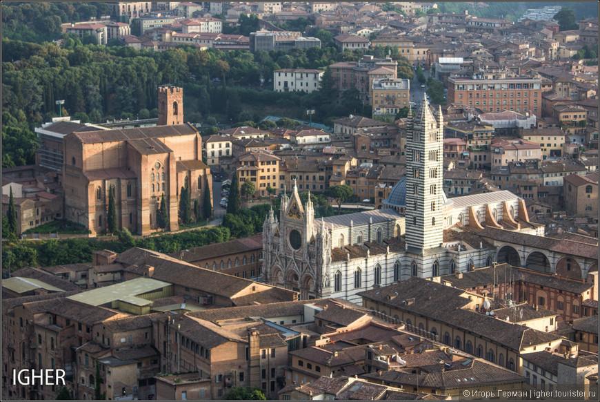 местный собор в римско-готическом стиле под оригинальным названием La cattedrale metropolitana di Santa Maria Assunta...начало постройки примерно 1220 год