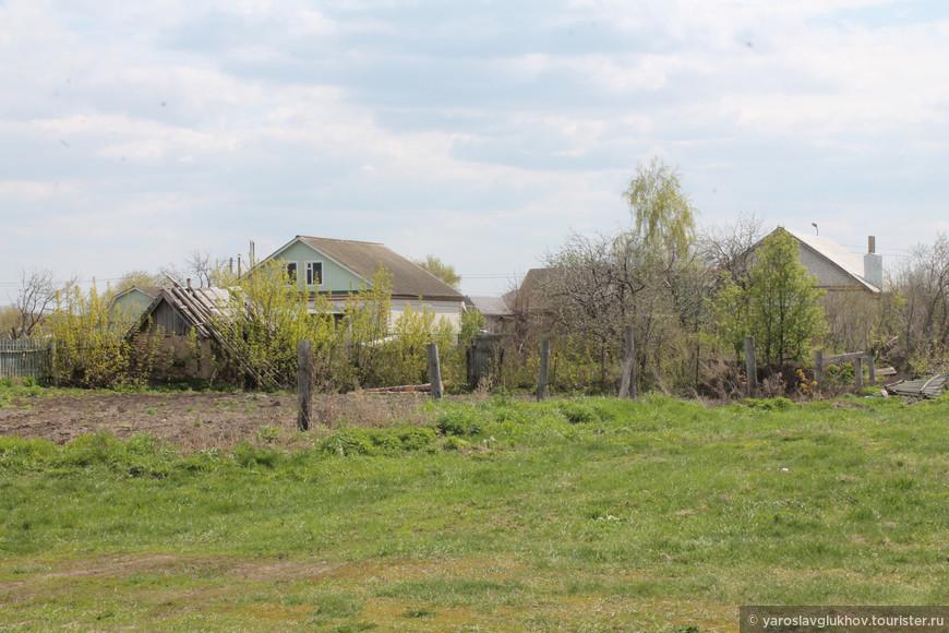 Частные дома возле Болгарского Городища.