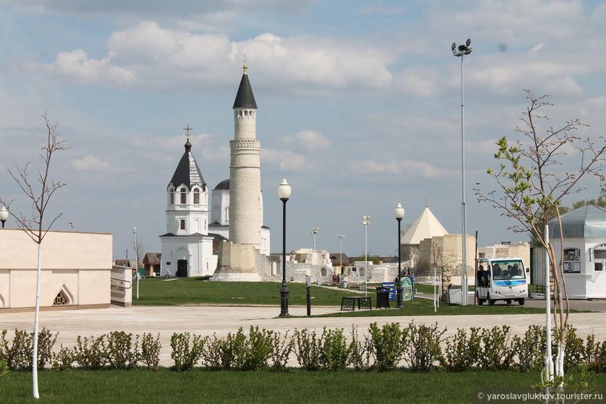 Вид на Болгарское Городище.