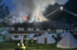 В гостинице Германии во время пожара погибли шесть туристов