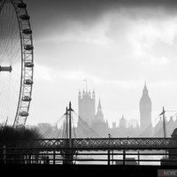 All in one... :) London Eye, Big Ben, Westminster Abbey & River Thames