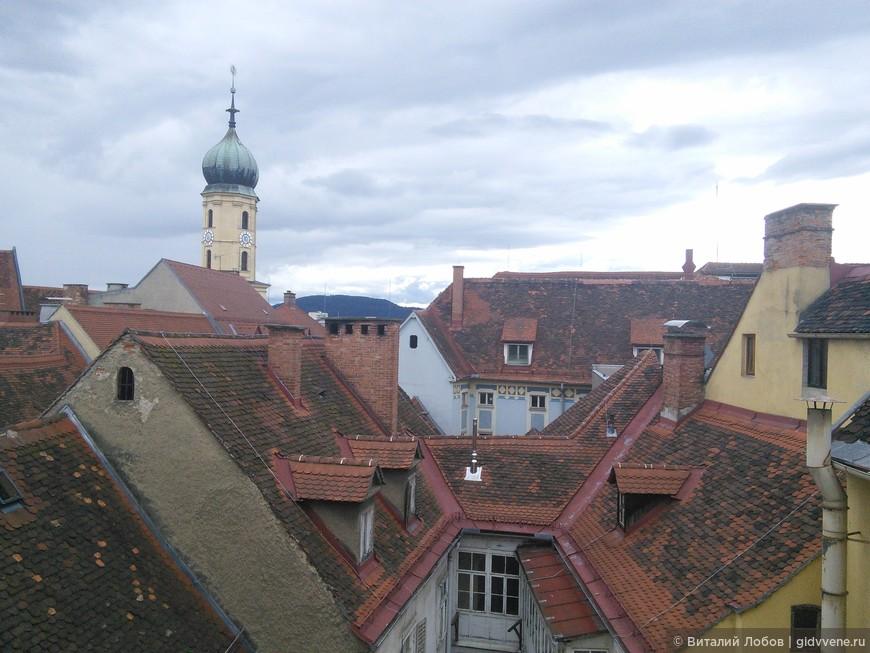 Крыши Граца