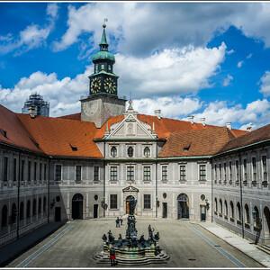 Фонтанный двор Мюнхенской резиденции
