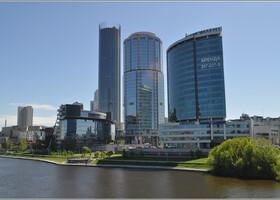Весенний Екатеринбург