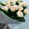 Уже доставленные цветы: № 60-1: букет из белых роз (15 шт.) - 60$