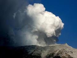 В Японии «проснулся» вулкан
