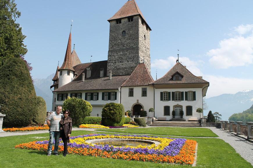 Средневековый замок Шпиец (экскурсия по Бернскому высокогорью)