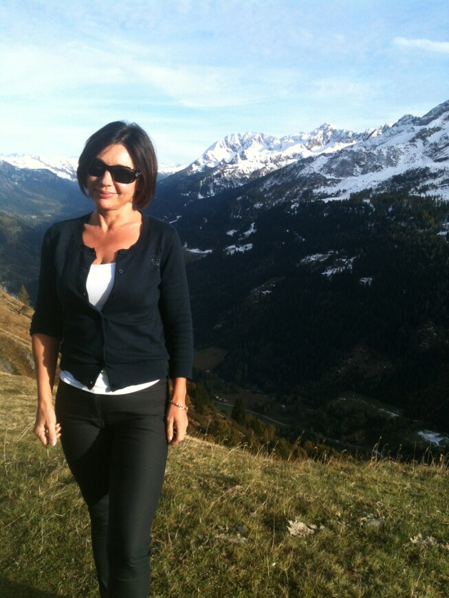 На перевале Готхард. (Gotthard)