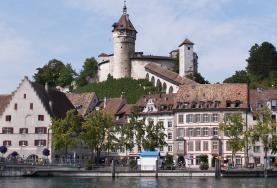 Замок Мунот в Шаффхаузене.  (Экскурсия Рейнский водопад - Шаффхаузен - Штайн-ам-Райн)