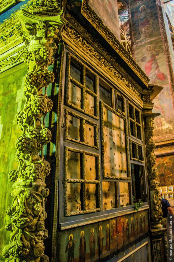 реставрация в Успенском соборе
