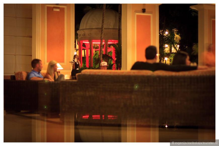 Тихие прекрасные вечера в лобби