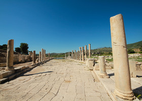 Руины древней Патары