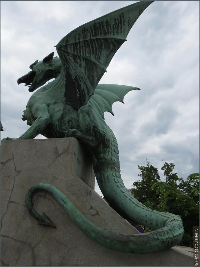 Словения - страна маленькая, но очень грозная ( армия почти 10.000 человек). По крайней мере если об этом судить по вот такому символу столицы страны - Любляны. Этого дракона часто можно встретить на сувенирах, футболках и т.п.