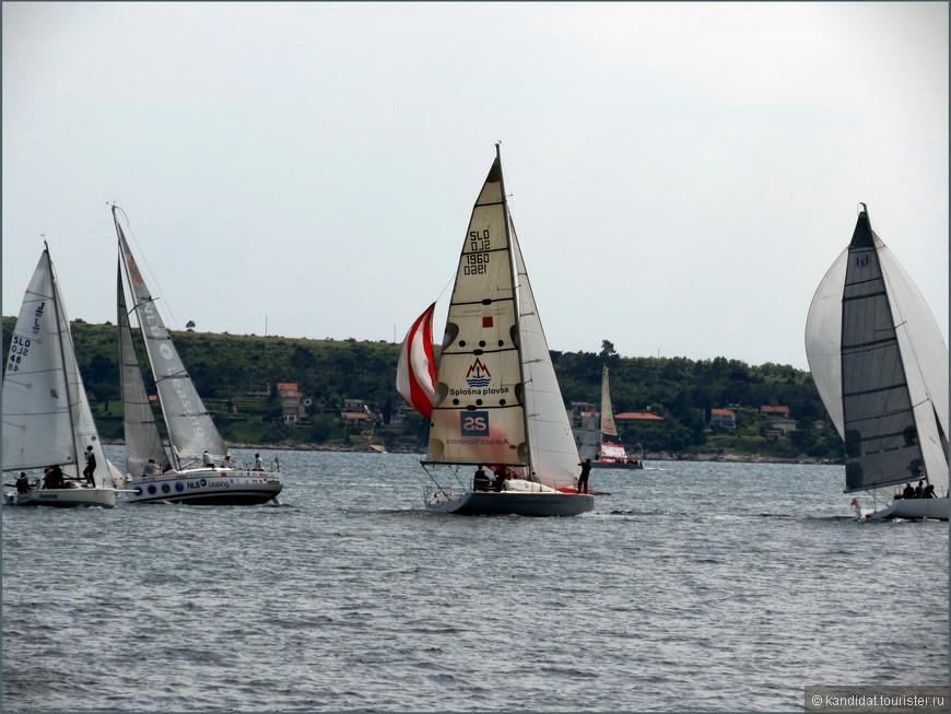 А еще, Пиранский залив, а значит Словенское побережье - раздолье для яхтсменов. Только я, не специалист и человек, не заплывающий за буйки, насчитал пять марин.