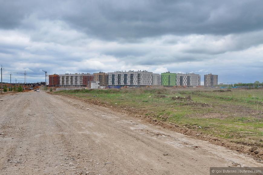 03. В чистом поле недалеко от Казани в 2012 году начали подготовку к строительству целого города, «с нуля» на 150 тысяч человек, самых умных в стране.