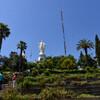 Святилище Непорочного Зачатия Девы Марии на вершине холма Сан Кристобаль в Сантьяго