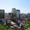 Вид на исторический центр Сантьяго с холма Санта Люсия