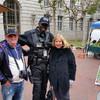 Мои туристы позируют на улицах Сан-Франциско