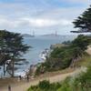 Изумительный вид на залив и мост Золотые Ворота