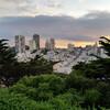 Красивый вид на Сан-Франциско