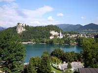 Словения Озеро Блед 2008