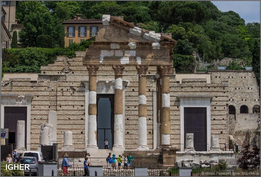 точнее то что сохранилось от римского форума