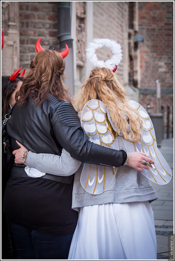 Тандем взаимопомощи ангелов и демонов