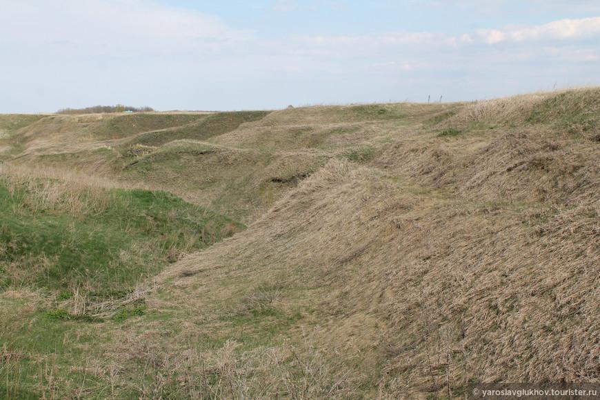 По дороге к Малому Городищу. Это всё — территория Болгарского заповедника.