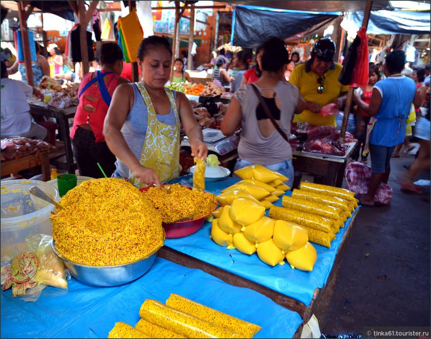 Приготовление пюре и соков из  местного популярного фрукта агуахе.
