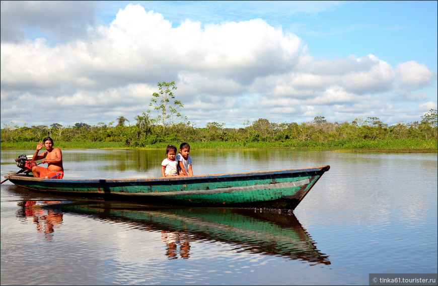 Лодка - непременный атрибут жизни в Белене.