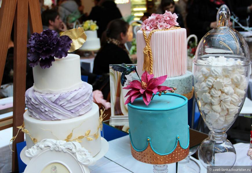 свадебные торты 2013 фото