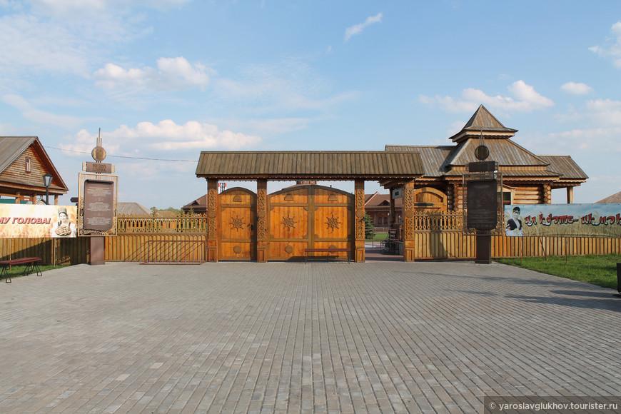 Вход в музей хлеба. Посещение музея стоит 150 рублей для взрослых и 100 рублей для детей, то есть до 18 лет.